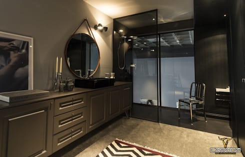 modern Bathroom by CASABA