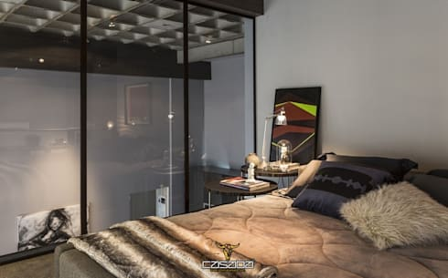 modern Bedroom by CASABA