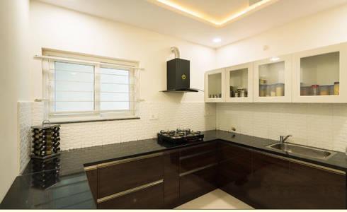MHV 202: modern Kitchen by Rhythm  And Emphasis Design Studio