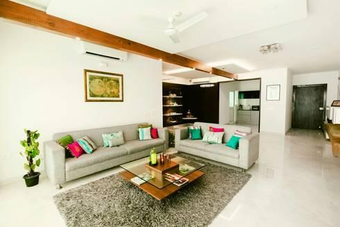 modern Living room by Creative Geometry