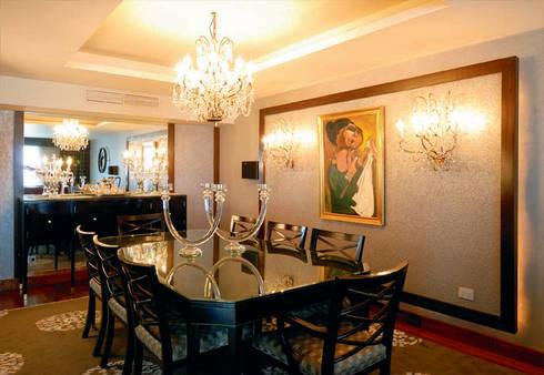 El Zamalek Apartment:  غرفة السفرة تنفيذ info10624