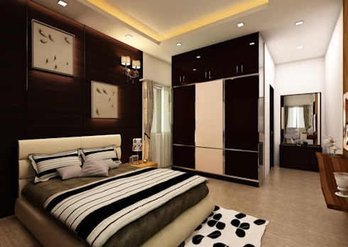 Bedroom: classic Bedroom by Regalias India Interiors & Infrastructure