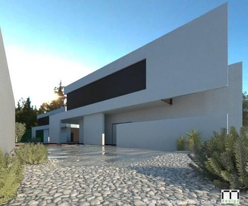 Casas prefabricadas from Steel Frame:  Prefabricated home by FHS Casas Prefabricadas