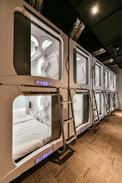 Pods:  Hotels by Racheta Interiors Pvt Limited