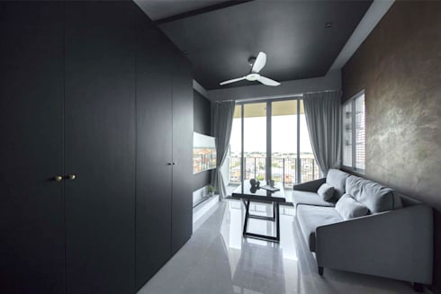 THE GLADES: scandinavian Living room by Eightytwo Pte Ltd