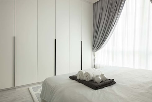 EASTWOOD GREEN 2: minimalistic Living room by Eightytwo Pte Ltd