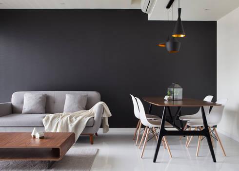 ECOPOLITAN 2: modern Living room by Eightytwo Pte Ltd