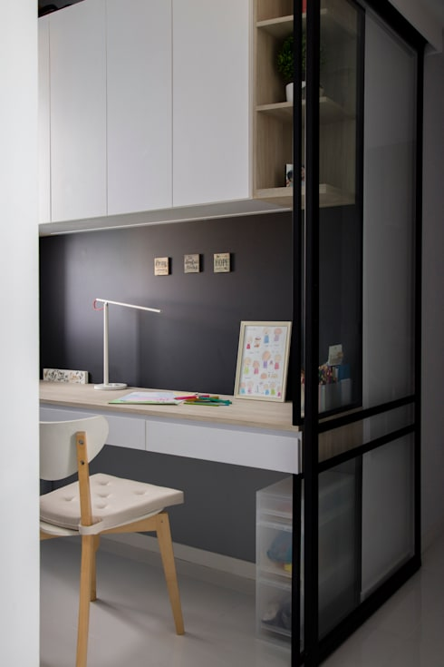 ECOPOLITAN:  Kitchen units by Eightytwo Pte Ltd