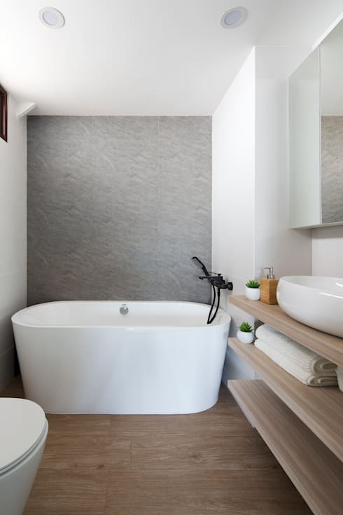 THE BALE: scandinavian Bathroom by Eightytwo Pte Ltd