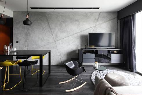THOMSON THREE: modern Living room by Eightytwo Pte Ltd