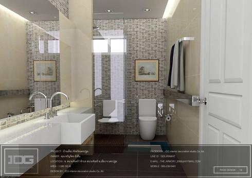 บ้านสนามจันทร์ จ.นครปฐม:   by IDG interior decoration studio Co.,Ltd.