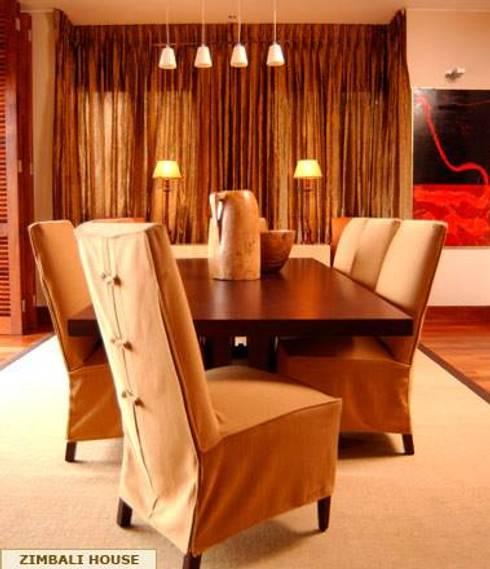 DINING AREA: minimalistic Dining room by Kiara Tiara by Tanja Tomaz
