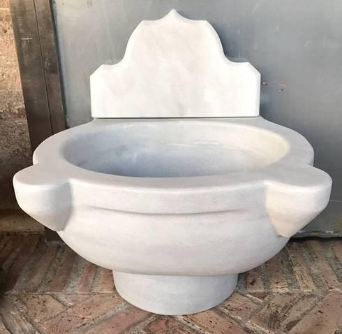 Pilas y lavabos de m rmol by homify for Pilas de lavabo