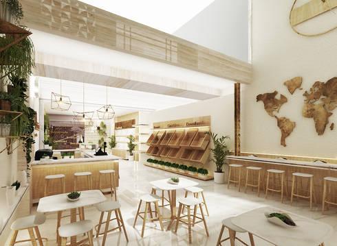 Delizia Bakery & Cafe, Pekalongan, Indonesia:  Restoran by Studio Avana