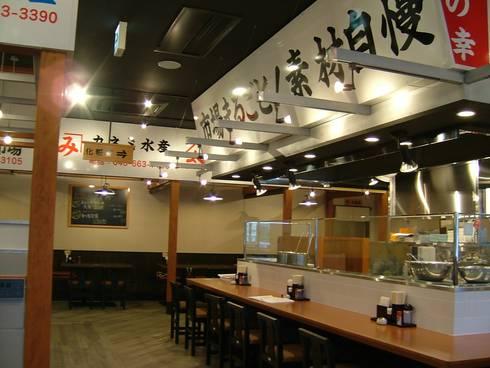 オープンカウンター: 株式会社アトリエKCが手掛けたレストランです。