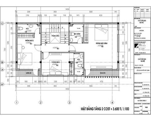 NHÀ PHỐ ANH DOANH:   by công ty cổ phần Thiết kế Kiến trúc Việt Xanh