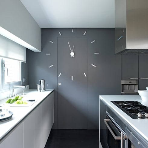 modern Kitchen by Just For Clocks