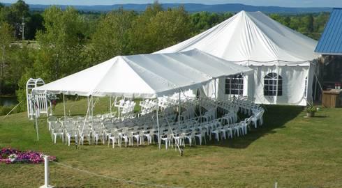 Stylish Wedding Tents:   by Tent Hire Pretoria