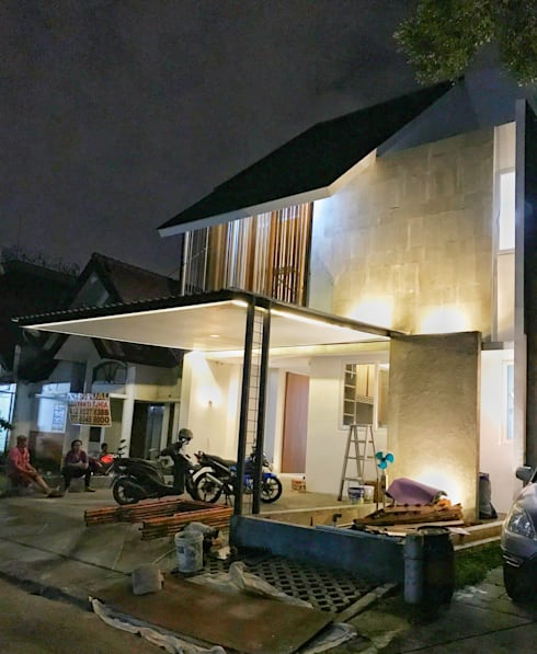 FZ House:  Rumah tinggal  by JSParchitect