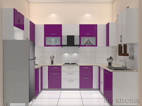 Modular Kitchen:   by RID INTERIORS