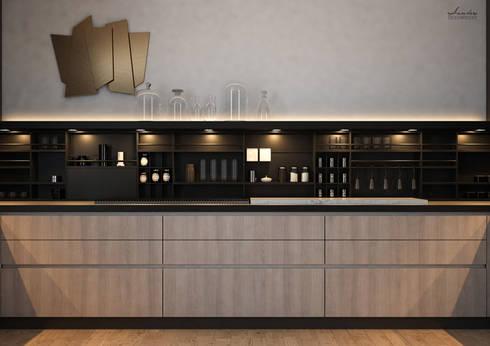 Santoro Design Render: Progettazione zona living e cucina - Capo d ...