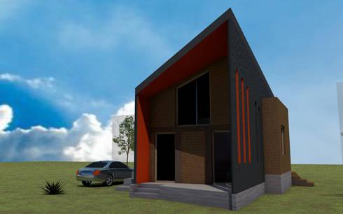 Casa Fundo Santa Inés, Puerto Varas:  de estilo  por casa rural