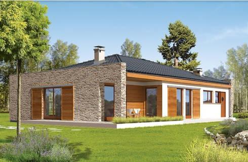 Casas prefabricadas de estilo  por FHS Casas Prefabricadas