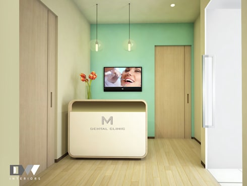 Reception:  Clinics by DW Interiors