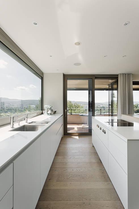 Кухонные блоки в . Автор – meier architekten