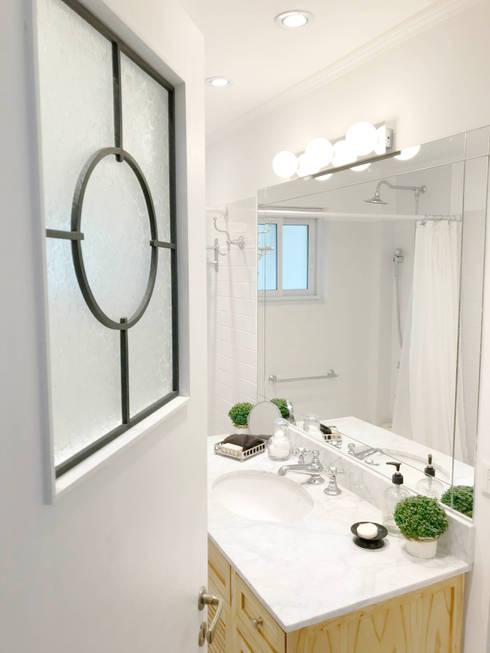 BAÑO: Baños de estilo  por Estudio Nicolas Pierry