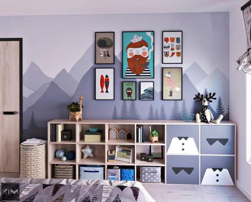 Dự án Vinhomes Central Park:  Phòng trẻ em by KIM - furniture