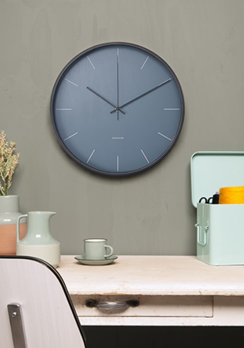 modern Living room by Just For Clocks