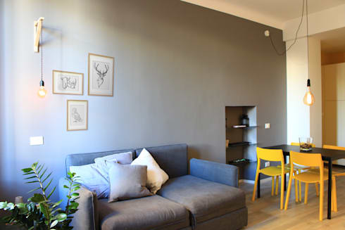 BILOCALE LOW COST, HIGHT COLOR by giorgio davide manzoni | homify