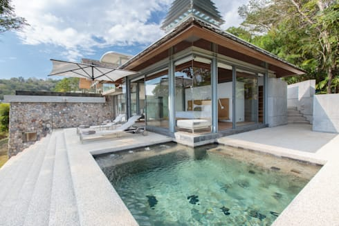 Villa Saengootsa : modern Bedroom by Original Vision