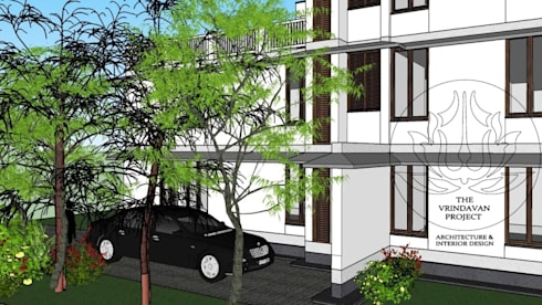Mansingka Residence:  Bungalows by The Vrindavan Project