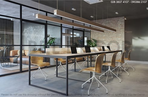 Project: OF1718 Office/ Bel Decor:   by Bel Decor