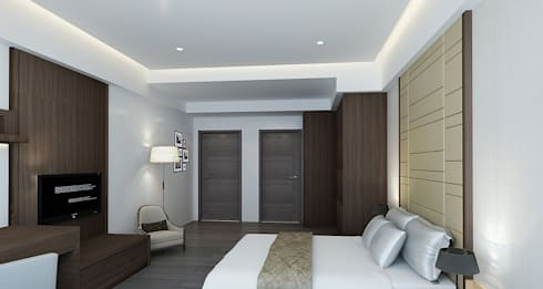 project-3002 : classic Bedroom by YU SPACE DESIGN