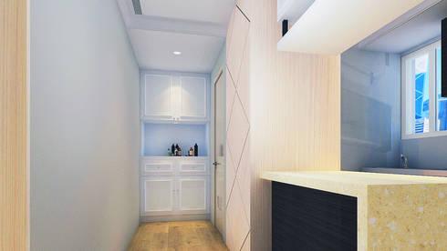 project-6007:  Corridor & hallway by YU SPACE DESIGN