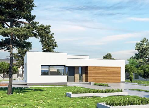 de estilo  por FHS Casas Prefabricadas