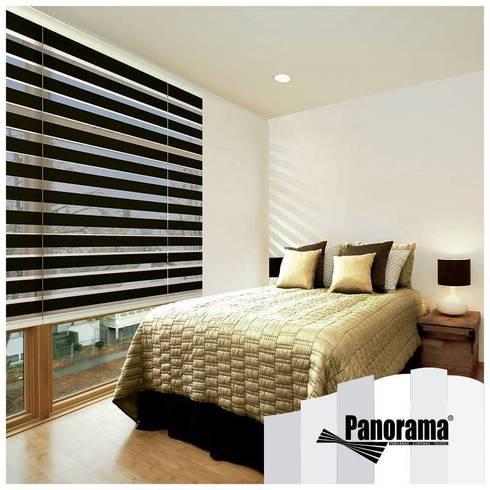 cortinas sheer: Hogar de estilo  por diseño+interiorismo