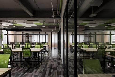《生機》:  辦公室&店面 by 辰林設計