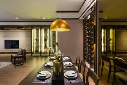 《韻‧東方》:  餐廳 by 辰林設計