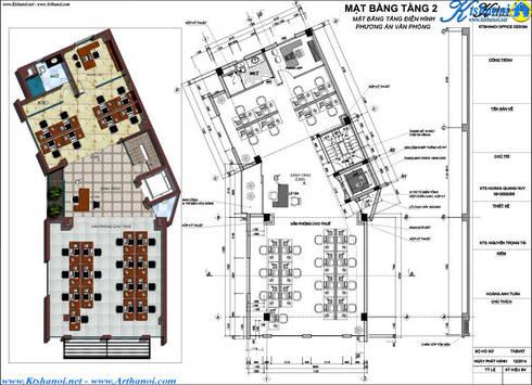 Thiết kế biệt thự 7 tầng kết hợp cho thuê căn hộ:   by Văn phòng kiến trúc Ktshanoi