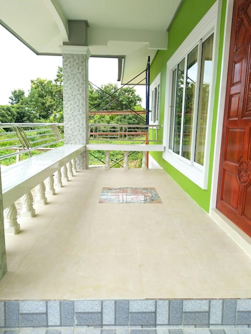 บ้านคุณดาว อ.ท่าวังผา จ.น่าน:   by บ้านช่างใหญ่ บริการรับสร้างบ้าน จ.น่าน (รัชนีก่อสร้าง)