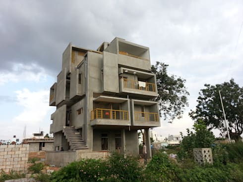 Mr. Mallesh Residence:   by Tangent Structures.