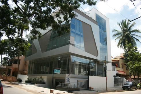 Office buildings by Ineidos