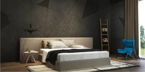 master bedroom: minimalistic Bedroom by  Ashleys