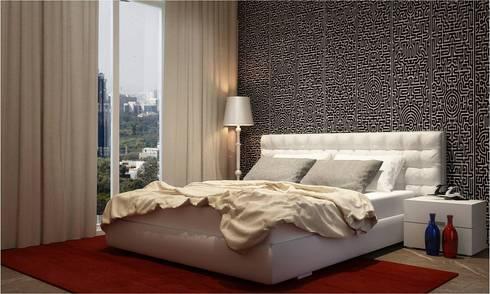 Sons  room : minimalistic Bedroom by  Ashleys