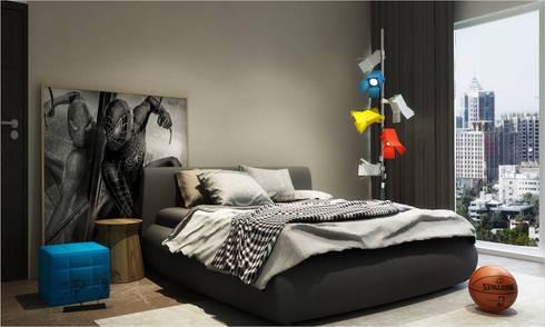Children's room: minimalistic Bedroom by  Ashleys