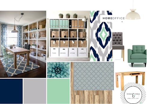 Look & Feel:  Office spaces & stores  by Design & Things